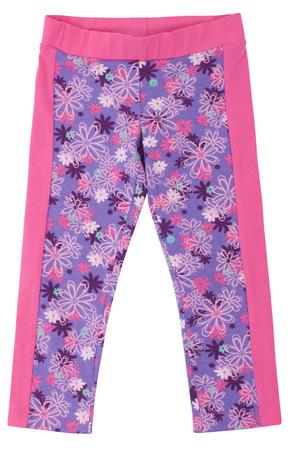 slacks: Bright sweatpants isolated on a white background