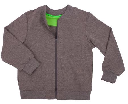 Sports sweater isolated on white background photo