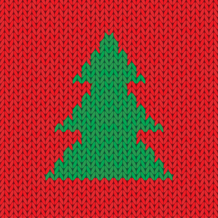 knitted background: