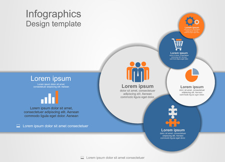 Abstract web design. Vector illustration Eps 8. Vector