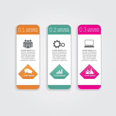 Abstract infographic. Vector illustration Vector