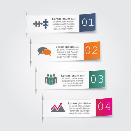 Abstract infographic. Vector illustration. Vector