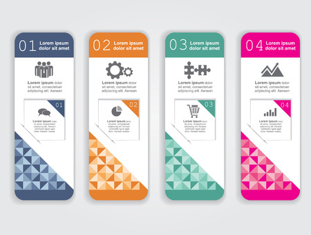 banner background: Abstract infographic. Vector illustration.