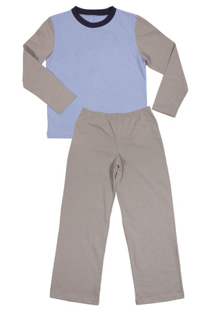 41d95b4a3985 Rosa De Los Niños Niñas Conjunto Pijama Aisladas Sobre Fondo Blanco ...