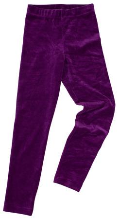 sweats: Purple sweatpants. Isolated on white background.