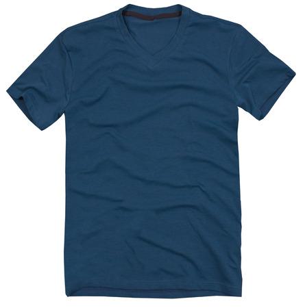 aislado: Hombres camiseta aislado en un fondo blanco.