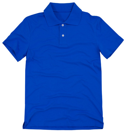 polo t shirt: Polo shirt isolated on a white background.