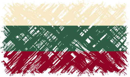 bulgarian: Bulgarian grunge flag. Vector illustration. Grunge effect can be cleaned easily.