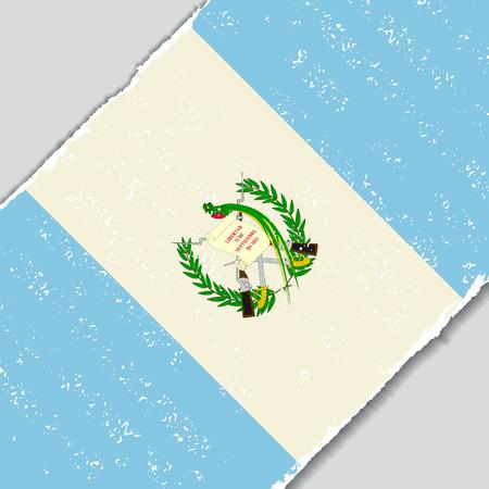 guatemalan: Guatemalan grunge flag diagonal background. Vector illustration.