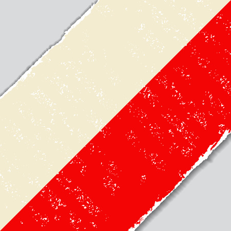 polish: Polish grunge flag diagonal background. Vector illustration. Illustration