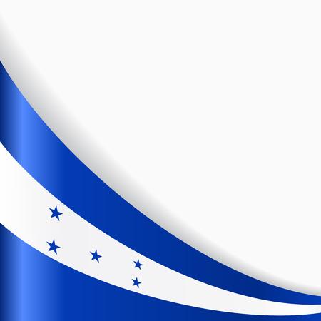 Honduras flag background. Vector illustration. Illustration