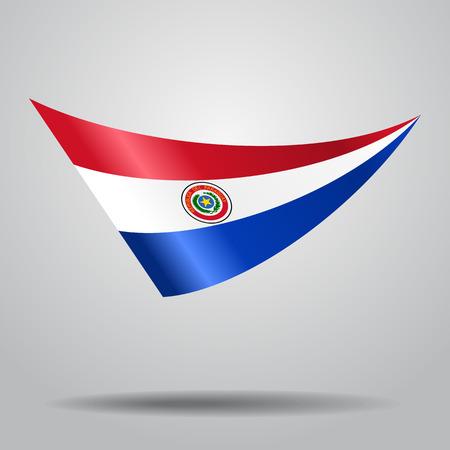 bandera de paraguay: Fondo paraguayo de la bandera. Ilustración del vector. Vectores