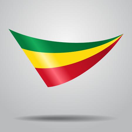 Diseño boliviano de la bandera.