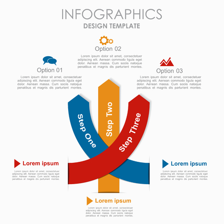 numbers: Infographic template. Vector illustration. Can be used for workflow layout, diagram, business step options, banner, web design.