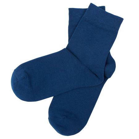 Un paio di calzini. Isolato su sfondo bianco. Archivio Fotografico