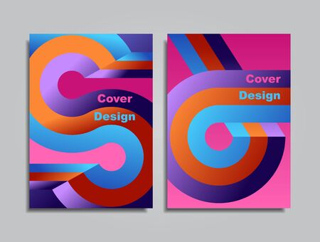 Modern abstract covers pattern background. Vector illustration.
