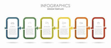Infographic design template with place for your text. Vector illustration.