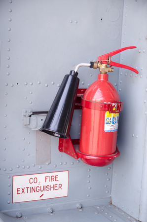 precaution: Handheld fire extinguisher more portable and convenience to use