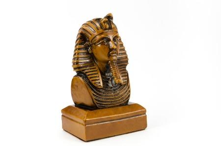 Old Egyptian pharaoh Statue,Souvenir. photo