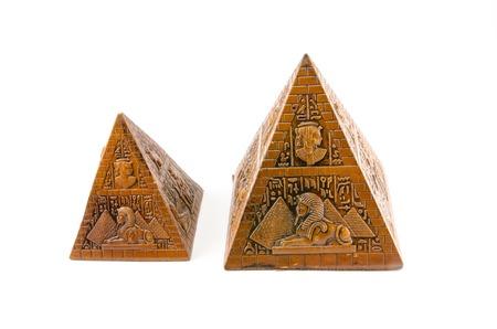 Pyramids - souvenirs from Egypt photo