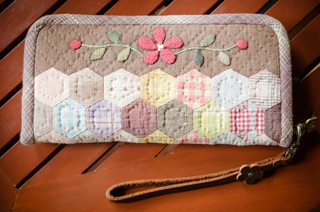 handmade of fabric purse,Quilting purse