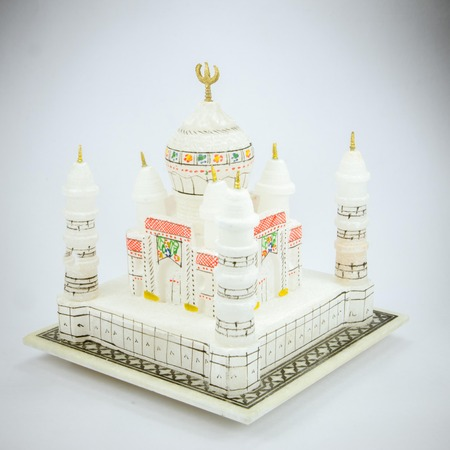 islamic wonderful: the taj mahal model, souvenir from india