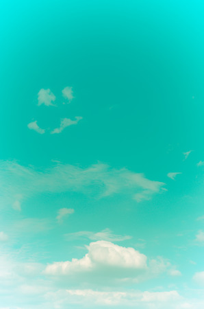 viewfinderchallenge1: the Retro sky and clouds background. Stock Photo