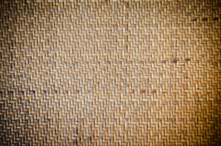 woven: woven rattan with natural patterns Stock Photo