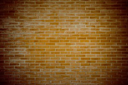 Red brick wall texture grunge background use to interior design