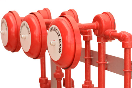 sprinkler alarm: Fire sprinkler alarm for industries.