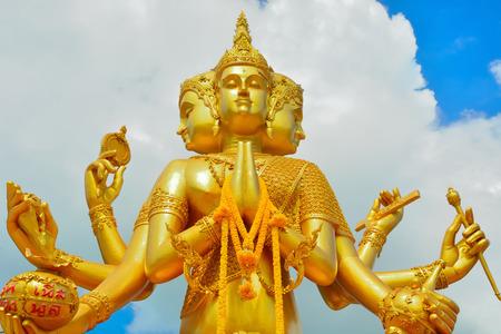 sacred trinity: Indian god of Brahma.