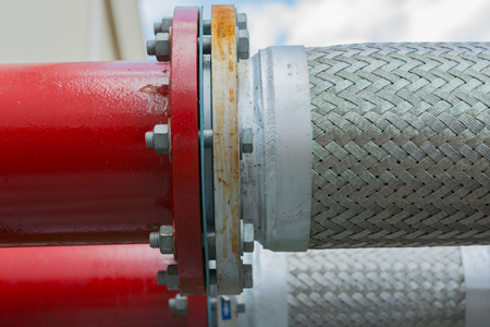 flexible: Flexible pipe and pipe connection.