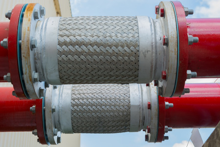 Flexible pipe and pipe connection.