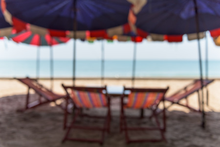 long weekend: Long weekend on the beach, Blurred beach background