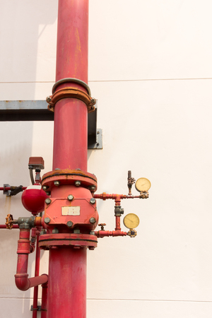 junction pipe: Industrial fire protection system.
