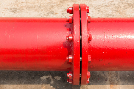 fire protection: Fire protection pipeline connect.