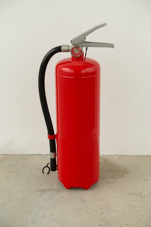 Fire extinguisher tools, Fire proof system, Fire protection tool, Fire extinguisher equipment. Stock Photo