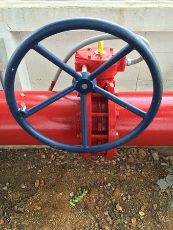 Supervisory valve for fire protection system, Fire proof system.