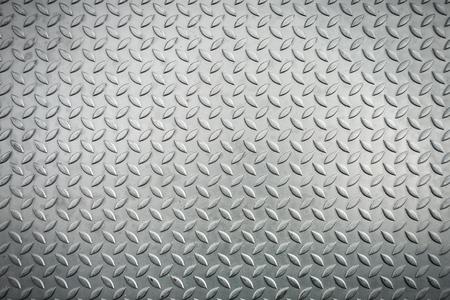 Steel checkerplate metal sheet, Metal sheet texture background.