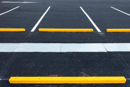 Empty parking lot, Public carpark.