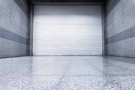 Roller shutter door, Indoor auto type, Steel shutter door.
