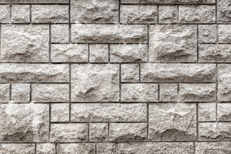 grooves: Granite texture background, Stone block wall.
