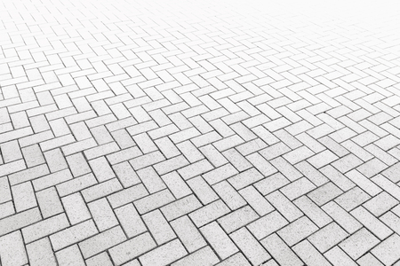 Pattern of walkway concrete block paving., Abstract background.