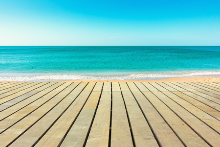 end of a long day: Sunny day on the beach with private place. Stock Photo