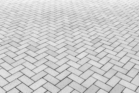 Concrete block paving for walkway
