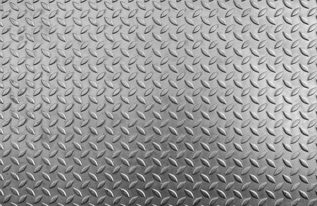 skid: Steel checker plate texture and anti-skid. Stock Photo