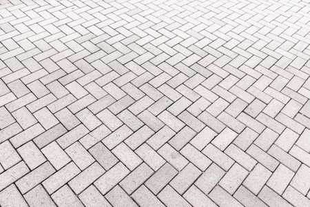 Concrete block paving for walkway., Abstract background. Stock Photo