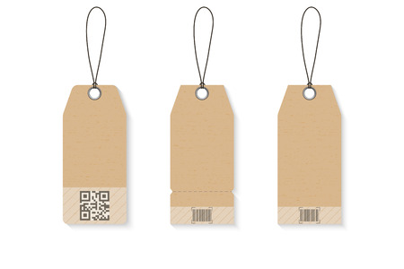 Kortings speciale tags, Retail tag prijs, Vector Illustratie. Stockfoto - 94038337