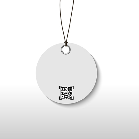 QR code for mobile payment, Digital code easy pay, Vector, Illustration.