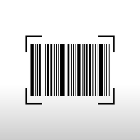 Bar code for mobile payment, Digital code easy pay, Vector, Illustration.
